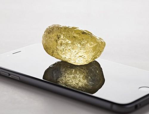 北米史上最大のダイアモンド原石発見される