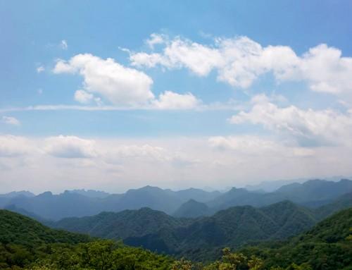 昨日の軽井沢の見晴台からの写真です。