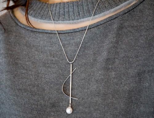 シルバー&あこや真珠ーメロディ